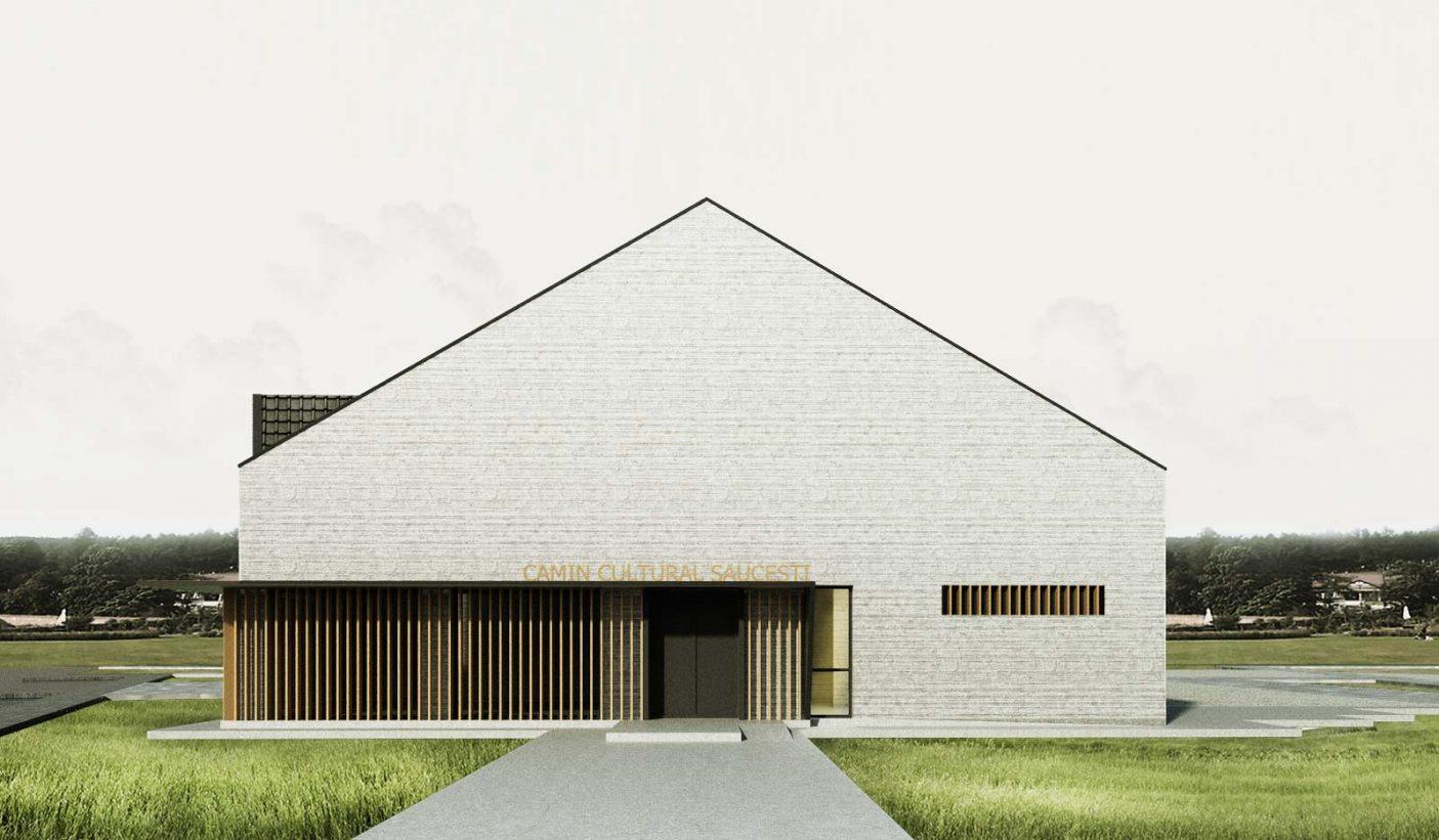 Saucesti Cultural Center